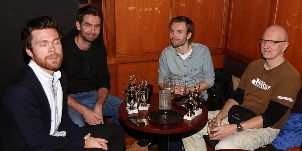 2014-11-12- klubbmøte Hvittingfoss-klubben-Mikael Ulstrup-Arne Kristian Boiesen-Tom Salamonsen-Frode Halse-foto Runar Halling