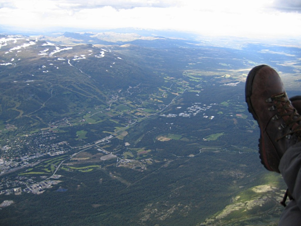 pionerflyving-dovrefjell-2004-07-17-ankomst oppdal-foto Roar Gaulen