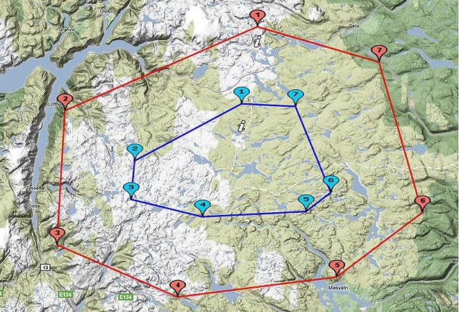 pionerflyving-hardangervidda-googleMap2-450