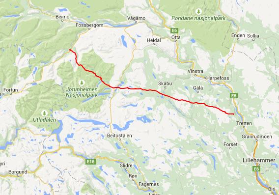 jotunheimen kart Pionerflyving – Jotunheimen | fridistanse.no jotunheimen kart