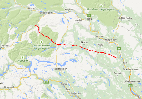 pionerflyving-jotunheimen-kart kryssing